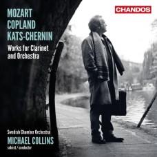 莫札特、柯普蘭、凱茲-徹爾寧:豎笛協奏曲 Mozart, Copland & Kats-Chernin:Works for Clarinet & Orchestra