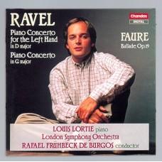 拉威爾、佛瑞:鋼琴協奏曲 Ravel & Fauré:Piano Concerto