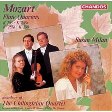 莫札特:四首長笛與弦樂四重奏作品 Mozart:Quartets for Flue, Violin and Cello