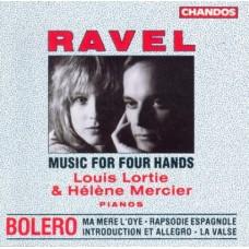 拉威爾:四手鋼琴音樂集 Ravel:Music For Four Hands