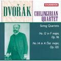 德佛札克:第12號、14號弦樂四重奏 Dvorak:String Quartets Op.96 & 105