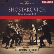 蕭士塔高維契:十三首弦樂四重奏 (包羅定弦樂四重奏) Shostakovich:String Quartets Nos1-13 (Borodin Quartet)