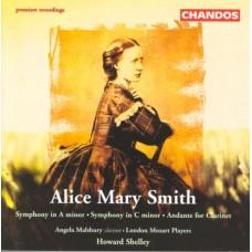 艾莉絲.瑪麗.史密斯:兩首交響曲、給單簧管的行板 Smith:Symphony in A minor/ Andante for Clarinet and Orchestra/Symphony in C minor