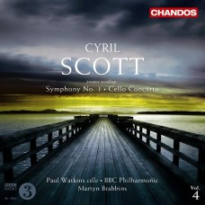 史考特:管弦作品第四集~第一號交響曲、大提琴協奏曲 Cyril Scott:Orchestral Works Vol. 4