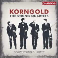 康果爾德:弦樂四重奏第1-3號 Korngold:String Quartets Nos 1, 2 & 3