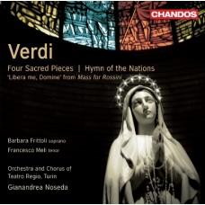 威爾第:合唱作品集 Verdi:Four Sacred Pieces & Hymn of the Nations