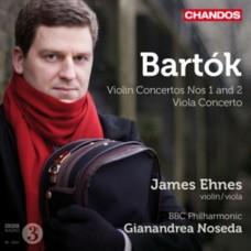 巴爾托克:一、二號小提琴協奏曲;中提琴協奏曲 Bartok:Violin Concertos Nos 1 and 2/Viola Concerto