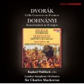 德佛札克:大提琴協奏曲、杜南伊:音樂會作品 Dvorak:Cello Concerto、Dohnányi:Konzertstück in D major for Cello and Orchestra Op. 12