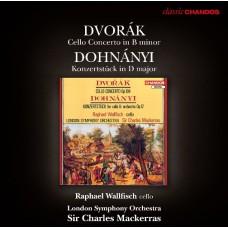 德佛札克:大提琴協奏曲、杜南伊:音樂會作品 Dvorak:Cello Concerto、Dohnányi:Konzertstück in D major for Cello and Orchestra Op. 12