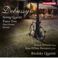 德布西:弦樂四重奏、鋼琴三重奏 Debussy:String Quartet & Piano Trio(Bavouzet 巴佛傑, 鋼琴)