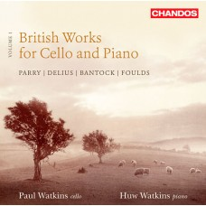 英國大提琴與鋼琴作品第一集 British Works for Cello and Piano, Vol. 1
