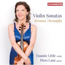史特勞斯 & 雷史畢基:小提琴奏鳴曲 R. Strauss & Respighi:Violin Sonatas