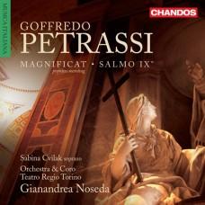 佩特拉西:聖母頌歌 & 詩篇9 Petrassi:Magnificat & Psalm IX (Orchestra and Chorus of the Teatro Regio, Torino / Gianandrea Noseda / Sabina Cvilak)