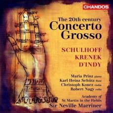 20世紀大協奏曲~丹第、克雷內克、舒霍夫 The 20th-century Concerto grosso