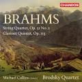 布拉姆斯:弦樂四重奏、豎笛五重奏 (麥可.柯林斯, 布羅茲基四重奏) Brahms:String Quartet、Clarinet Quintet (Brodsky Quartet / Michael Collins, clarinet)