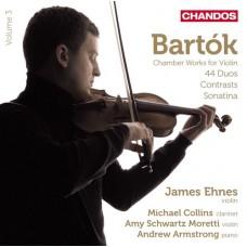 巴爾托克:小提琴與鋼琴作品第3集 Bartók:Works for Violin and Piano Vol. 3
