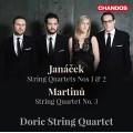 楊納傑克、馬替努:弦樂四重奏 Janáček、Martinů:String Quartets (Doric String Quartet)