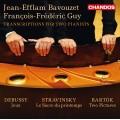 雙鋼琴改編曲集:巴爾托克、德布西&史特拉文斯基 (巴佛傑 / 基) Transcriptions for Two Pianists (Bavouzet & Guy, piano)