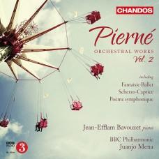 皮爾納:管弦作品第二集 (尚-艾弗藍‧巴佛傑, 鋼琴) Pierne:Orchestral Works, Vol. 2 ( Jean-Efflam Bavouzet / BBC Phil. / Mena)