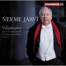尼米.賈維三十年錄音生涯精選回顧 Neeme Järvi Highlights from a remarkable 30-year recording career