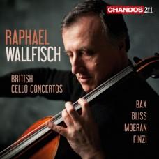 英國大提琴協奏曲集 (拉斐爾.沃爾費許, 大提琴) British Cello Concertos (Raphael Wallfisch, cello)