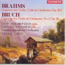 布拉姆斯:雙重協奏曲, 作品102、布魯赫:第1號小提琴協奏曲, 作品26 Brahms:Double Concerto / Bruch:Violin Concerto No. 1