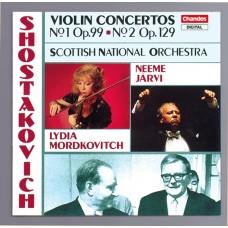 蕭士塔高維契:第1、2號小提琴協奏曲 Shostakovich:Violin Concertos (L. Mordkovitch, N.Jarvi, Royal Scottish National Orchestra)