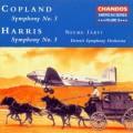 哈利斯、柯普蘭:第三號交響曲 Harris、Copland:Symphony No. 3 (Detroit Symphony Orchestra, Neeme Jarvi)