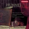 胡麥爾:F大調鋼琴協奏曲、F大調主題與變奏、A大調鋼琴協奏曲 Hummel:Piano Concertos etc. (Shelley, London Mozart Players)