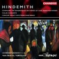 Hindemith:Violin Concerto etc. 亨德密特:為絃樂與銅管的音樂會作品、小提琴協奏曲、交響變形