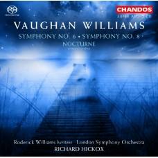 佛漢.威廉士:第6、8號交響曲、夜曲 Vanghan Williams:Symphony No. 6 & 8、Nocturne