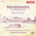 孟德爾頌在伯明罕第二集~第一&三號交響曲、路易.布拉斯序曲 Mendelssohn in Birmingham, Vol. 2