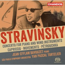 史特拉文斯基:鋼琴與管弦樂團作品集 Stravinsky:Works for piano and orchestra (Bavouzet)