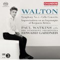華爾頓:第二號交響曲、大提琴協奏曲 Walton:Symphony No. 2 & Cello Concerto