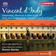 丹第:管弦作品第六集 D'Indy:Orchestral Works, Vol. 6