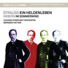 (SACD)芝加哥交響樂團 / 海汀克指揮 / 理查史特勞斯:英雄生涯 Strauss, R: Ein Heldenleben, Webern: Im sommerwind