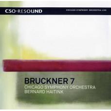 (SACD)芝加哥交響樂團 / 海汀克指揮 / 布魯克納:第七號交響曲 CSO / Bernard Haitink / Bruckner: Symphony No. 7