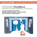 史特拉文斯基:普欽內拉、三樂章交響曲、四首練習曲 (布列茲 / 芝加哥交響樂團) Stravinsky:Pulcinella、Symphony in Three Movements & Four Études (Pierre Boulez / CSO)