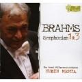 布拉姆斯:第一、三號交響曲 Brahms:Symphonies Nos. 1 & 3