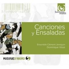 西班牙黃金年代歌曲與器樂作品 Canciones Y Ensaladas
