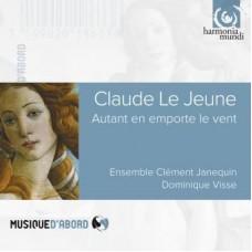 克羅德.如.熱納:「隨風消逝」~香頌歌曲集 Claude Le Jeune:Autant en emporte le vent