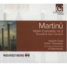 伊莎蓓兒·佛斯特 & 塞德利克.提貝岡 / 馬替努:小提琴協奏曲  Isabelle Faust & Cedric Tiberghien / Martinu: Concerto pour violon