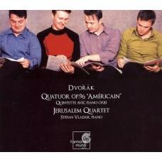 """德弗札克:""""美國""""四重奏與鋼琴五重奏Op.81 Dvořák: String Quartet 12/ Piano Quintet"""
