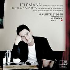 泰勒曼:木笛作品集~給木笛與管弦樂團的組曲和協奏曲 Telemann:Concertos and Suites with treble recorder