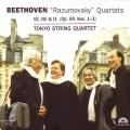 貝多芬:拉茲莫夫斯基弦樂四重奏第7~9號 (作品59第1-3號) Beethoven : Razumovsky Quartets