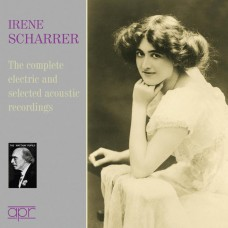 (2CD)艾琳.夏瑞爾:電氣錄音全集&原音錄音選集 Irene Scharrer: The complete electric & selected acoustic recordings
