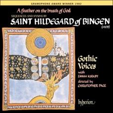 上帝呼息中的羽翼─中世紀希德嘉.馮.賓更修女院的讚美詩 Hilderard Of Bingen-A Feather On The Breath Of God (E. Kirkby, Gothic Voices, C. Page)