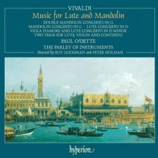 韋瓦第:魯特琴與曼陀林琴之樂曲 Vivaldi:Lute and Mandolin Concertos