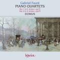 佛瑞:鋼琴四重奏第1、2號 Faure:Piano Quatets