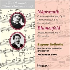 浪漫鋼琴協奏曲37 - 納普拉夫尼克:交響協奏曲、俄羅斯幻想曲|布倫菲爾德:音樂會快板 The Romantic Piano Concerto 37 - Nápravník & Blumenfeld